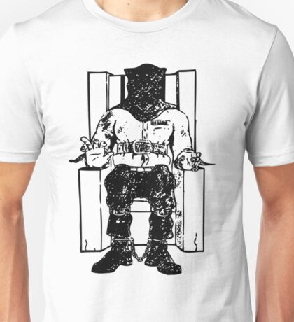 Death Row (Black Chair) Unisex T-Shirt