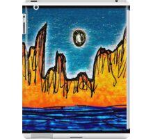 Mountainous island iPad Case/Skin