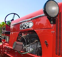 Co-op Tractor by chuckbruton