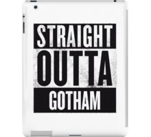Straight Outta Gotham iPad Case/Skin