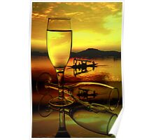 Glasses at Dal Lake Poster