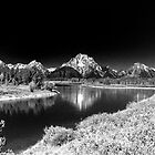 Grand Tetons by Nigel Fletcher-Jones