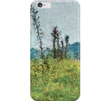 Grunge Style Nature Artwork iPhone Case/Skin