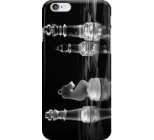 Black and white chess iPhone Case/Skin