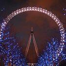 London Eye, London by Elizma Knowles