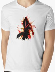 PYRAMID HEAD Mens V-Neck T-Shirt
