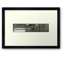 Through The Looking Glass. Framed Print