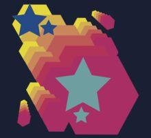Retro-Star Geometry Kids Clothes