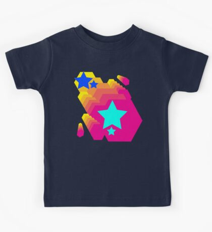 Retro-Star Geometry Kids Tee