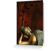 Buddha Thoughts .. Greeting Card