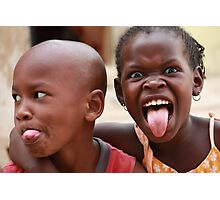 Getting Silly in Senegal Photographic Print
