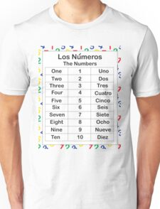 Los Numeros Unisex T-Shirt