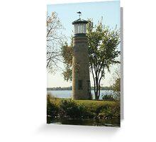 Asylum Point Lighthouse Greeting Card