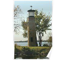 Asylum Point Lighthouse Poster