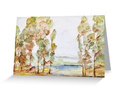 Seeing the Forest for the Trees Greeting Card