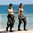 Diving Girls by DJohnW