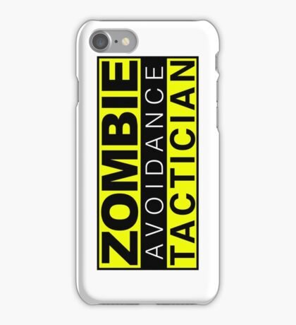 Zombie Avoidance Tactician iPhone Case/Skin