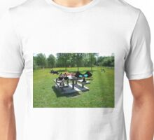 Cats At A PicNic Unisex T-Shirt
