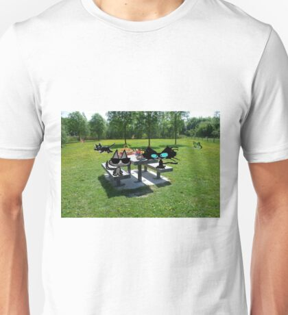 Cats At A PicNic Unisex T-Shirt