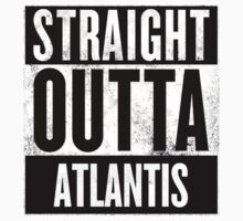 STRAIGHT OUTTA ATLANTIS Kids Clothes