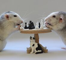 The real Chess Players :) by Ellen van Deelen