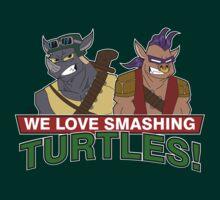 We love smashing Turles! by DrewBird