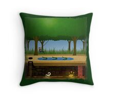Pitfall! Throw Pillow