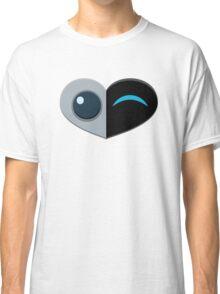 Wall E Love Story Classic T-Shirt