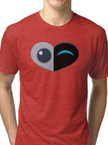 Wall E Love Story Tri-blend T-Shirt