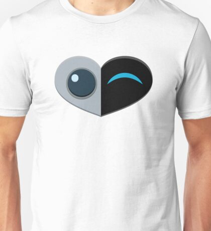 Wall E Love Story Unisex T-Shirt