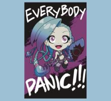 League of Legends - Jinx - EVERYBODY PANIC!!! Kids Clothes