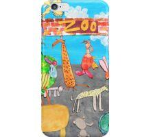 Melbourne Zoo iPhone Case/Skin