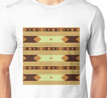 Mint Chocolate Navajo Unisex T-Shirt