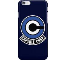 Capsule Corp. Logo - DBZ Cosplay - Trunks alternate iPhone Case/Skin