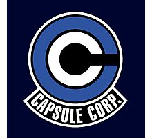 Capsule Corp. Logo - DBZ Cosplay - Trunks alternate Photographic Print