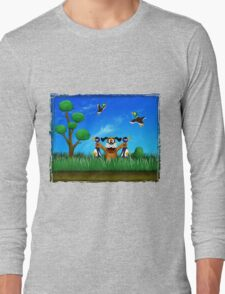 Duck Hunt! Long Sleeve T-Shirt
