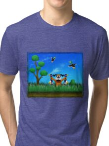 Duck Hunt! Tri-blend T-Shirt