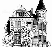 San Francisco Victorian by Mary Palmer
