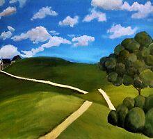 An Empty Footpath by chickichi