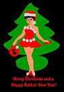 50s rocking Christmas card by patjila
