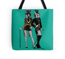 Colored Bunnies Tote Bag