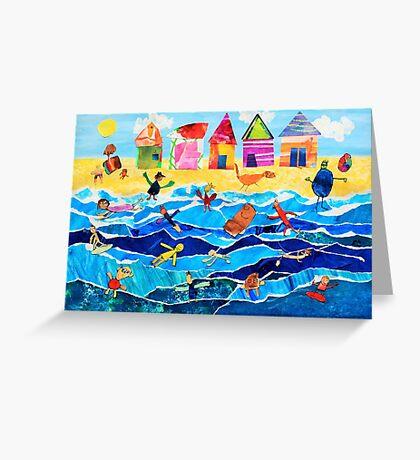Brighton Beach Boxes Greeting Card