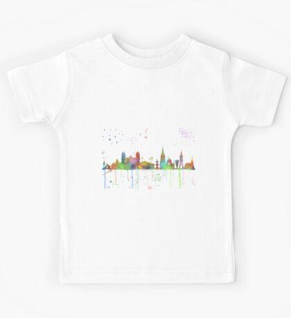 Christchurch, New Zealand Skyline Kids Tee