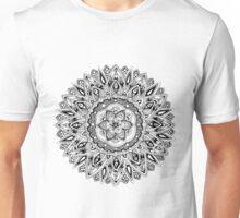 Zendoodle flower mandala Unisex T-Shirt