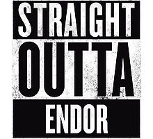 STRAIGHT OUTTA ENDOR Photographic Print