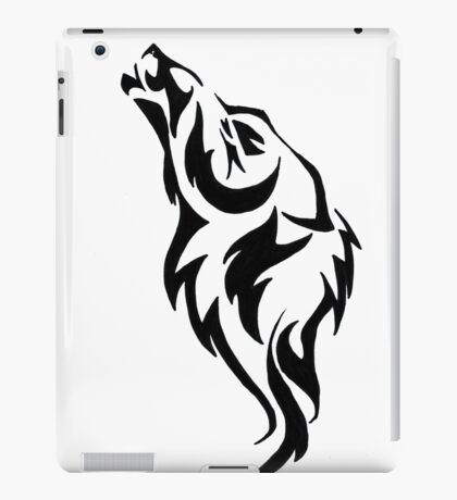 Tattoo wolf iPad Case/Skin