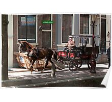 Horse & Buggy Poster