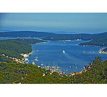 Mali Losinj bay Photographic Print