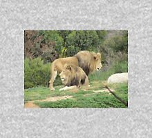 Handsome African Lions at Werribee Open Zoo. Victoria. Unisex T-Shirt