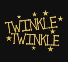 TWINKLE TWINKLE little stars Childrens nursery rhyme One Piece - Long Sleeve